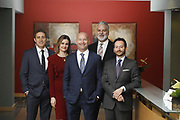 SHOT 1/8/19 12:23:56 PM - Bachus & Schanker LLC lawyers James Olsen, Maaren Johnson, J. Kyle Bachus, Darin Schanker and Andrew Quisenberry in their downtown Denver, Co. offices. The law firm specializes in car accidents, personal injury cases, consumer rights, class action suits and much more. (Photo by Marc Piscotty / © 2018)
