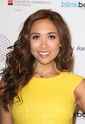 MYLEENE KLASS arrives for the Radio Academy Awards, London, United Kingdom. Monday, 12th May 2014. Picture by i-Images
