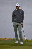 Tiger Woods (USA) waits to putt on 11 during day 4 of the WGC Dell Match Play, at the Austin Country Club, Austin, Texas, USA. 3/30/2019.<br /> Picture: Golffile | Ken Murray<br /> <br /> <br /> All photo usage must carry mandatory copyright credit (© Golffile | Ken Murray)