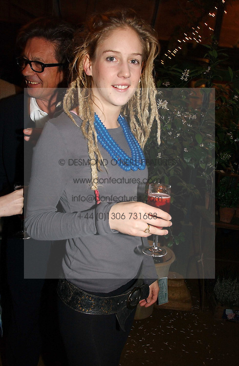 LARA BOGLIONE at a party to celebrate the publication on 'A Year in My Kitchen' by Skye Gyngell held at The Petersham Nurseries, Petesham, Surrey on 19th October 2006.<br /><br />NON EXCLUSIVE - WORLD RIGHTS