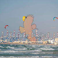 2021-02-27 HaKshatot Beach, Ashdod