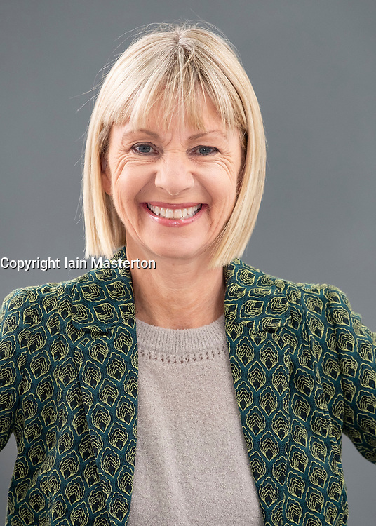 """Edinburgh, Scotland, UK; 17 August, 2018. Pictured; Author Kate Mosse. Her book """"The Burning Chambers"""" is the first volume of an epic new series. Ranging across 300 years, from the 16th century to 19th century Southern Africa it contains hidden secrets, dangerous missions, love, betrayal and battle lines drawn in blood."""