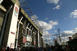 A general view of Twickenham Stadium before the Autumn International at Twickenham Stadium, London.