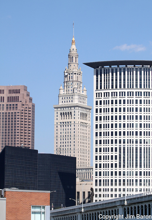 Terminal Tower in Cleveland, Ohio