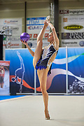 Neviana Vladinova from Polimnia team during the Italian Rhythmic Gymnastics Championship in Padova, 25 November 2017.
