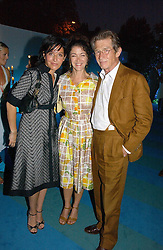 Left to right, singer SHARLEEN SPITERI, actor JOHN HURT and his wife ANWEN REES-MYERS at a party to celebrate FilmFour becoming the UK's first major free film channel held at Debenham House, Addison Road, London on 20th July 2006.<br /><br />NON EXCLUSIVE - WORLD RIGHTS