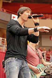 22 December 2013:  Brett Gillian. Brushville (formerly Brushfire) plays as the entertainment and pep band for a men's NCAA basketball game between the Blue Demons of DePaul and the Redbirds of Illinois State at Redbird Arena in Normal IL