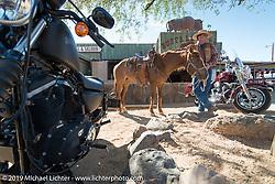 Cavecreek, AZ during Arizona Bike Week. USA. April 6, 2014.  Photography ©2014 Michael Lichter.
