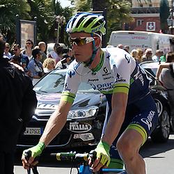 GENUA (ITA) wielrennen<br /> Pieter Weening mag deze Giro weer opzoek naar overwinningen