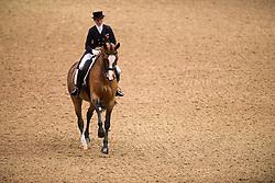 Crisp Nikki (GBR) - Pasoa<br /> Grand Prix - Reem Acra FEI World Cup Dressage Qualifier - The London International Horse Show Olympia - London 2012<br /> © Hippo Foto - Jon Stroud