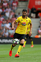 Football - 2016 / 2017 Premier League - Southampton vs. Watford<br /> Miguel Britos of Watford in action at St Mary's Stadium Southampton <br /> <br /> Colorsport/Shaun Boggust