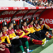 Galatasaray's players during their Turkish Super League soccer match Galatasaray between Sivasspor at the AliSamiYen Spor Kompleksi TT Arena at Seyrantepe in Istanbul Turkey on Sunday 05 May 2013. Photo by TURKPIX