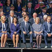 NLD/Den Haag/20180831 - Koninklijke Willems orde voor vlieger Roy de Ruiter, Minister van Justitie F. Grapperhaus