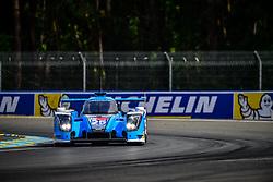 June 3, 2018 - Le Mans, FRANCE - 25 ALGARVE PRO RACING (PRT) LIGIER JSP217 GIBSON LMP2 MARK PATTERSON (USA) ATE DE JONG (PHL) TACKSUNG KIM  (Credit Image: © Panoramic via ZUMA Press)