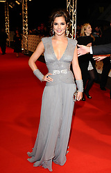 Cheryl Cole arriving for the National Television Awards 2010, at the 02 Arena, London.