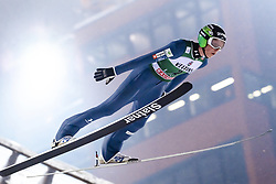 February 8, 2019 - Lahti, Finland - Bor Pavlovčič participates in FIS Ski Jumping World Cup Large Hill Individual training at Lahti Ski Games in Lahti, Finland on 8 February 2019. (Credit Image: © Antti Yrjonen/NurPhoto via ZUMA Press)