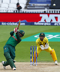 June 5, 2017 - London, United Kindom - Tamim Iqbal Khan of Bangladesh.during the ICC Champions Trophy match Group A between Australia and Bangladesh at The Oval in London on June 05, 2017  (Credit Image: © Kieran Galvin/NurPhoto via ZUMA Press)
