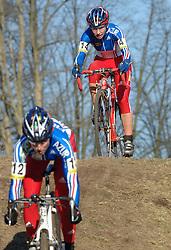 29-01-2006 WIELRENNEN: UCI CYCLO CROSS WERELD KAMPIOENSCHAPPEN: ZEDDAM <br /> Cristel Ferrier Brunau (FRA)<br /> ©2006-WWW.FOTOHOOGENDOORN.NL