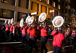 California: San Francisco. Horn section in Chinese New Year's Parade. Photo copyright Lee Foster. Photo # 29-casanf77725