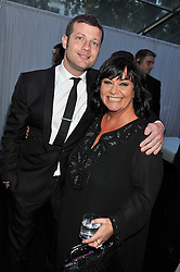 DERMOT O'LEARY and DAWN FRENCH at the Glamour Women of The Year Awards 2011 held in Berkeley Square, London W1 on 7th June 2011.