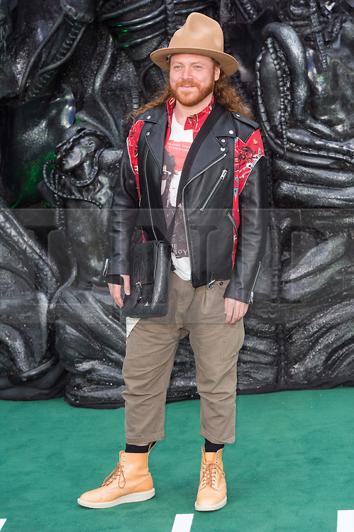 © Licensed to London News Pictures. 04/05/2017. London, UK. LEIGH FRANCIS attends the Alien: Covenant world film premiere. Photo credit: Ray Tang/LNP