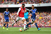 Football - 2019 Emirates Cup - Arsenal vs. Lyon<br /> <br /> Arsenal's Joe Willock in action during this afternoon's game, at the Emirates Stadium.<br /> <br /> COLORSPORT/ASHLEY WESTERN
