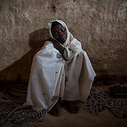 Acha Abdawaman Lomu lost her husband, Mohamed Said Tutu, on November 8th 2012. He was killed during bombings taking place in the local market of Heiban. 'Mohammed was a good and honest man, now I'm alone with my 8 children to feed, and no one to held me.'<br /> A few months later, Acha left Heiban to reach by walk, the refugee camp of Yida in South Sudan as she couldn't sustain herself and her children without outside help.