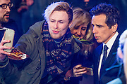 Ben Stiller poses for selfies  - Paramount Pictures Presents A 'Fashionable' Screening of Zoolander No.2  - the sequel directed by and starring Ben Stiller.