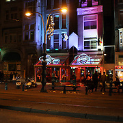 NLD/Amsterdam/20081107 - Bar teaser aan het Rokin Amsterdam