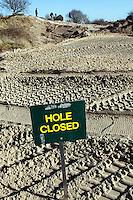 ZANDVOORT - Hole closed.  Veranderingen aan hole 8 van de Kennemer GC. COPYRIGHT KOEN SUYK