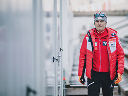 31.12.2019, Olympiaschanze, Garmisch Partenkirchen, GER, FIS Weltcup Skisprung, Vierschanzentournee, Garmisch Partenkirchen, Qualifikation, im Bild Cheftrainer Andreas Felder (AUT) // Headcoach Andreas Felder (AUT) during his qualification Jump for the Four Hills Tournament of FIS Ski Jumping World Cup at the Olympiaschanze in Garmisch Partenkirchen, Germany on 2019/12/31. EXPA Pictures © 2019, PhotoCredit: EXPA/ JFK