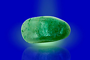 Digitally enhanced image of a Cutout of an Aventurine gemstone