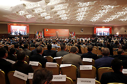 September 27, 2016 - Algiers, Algeria - 15th International Energy Forum (IEF15) informal meeting of the Organization of Petroleum Exporting Countries (OPEC) in the nation palaces bread club. Algiers on 27/09/2016  (Credit Image: © Billal Bensalem/NurPhoto via ZUMA Press)