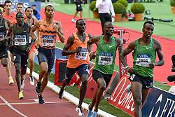 July 20, 2018 - Monaco, France - 800 metres hommes - Harun Abda (Etat Unis) - Nijel Amos (Botswana) - Jonathan Kitlit (Kenya) - Brandon McBride (Canada) - Alfred Kipketer  (Credit Image: © Panoramic via ZUMA Press)