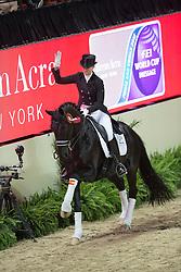 Barbancon Mestre Morgan, (ESP), Painted Black <br /> Kur<br /> Reem Acra FEI World Cup™ Dressage Final<br /> Las Vegas 2015<br />  © Hippo Foto - Dirk Caremans<br /> 19/04/15