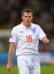 18.01.2010, Green Point Stadium, Cape Town, RSA, FIFA WM 2010, England (ENG) vs Algeria (ALG), im Bild Jamie Carragher of England looks dejected. EXPA Pictures © 2010, PhotoCredit: EXPA/ IPS/ Marc Atkins / SPORTIDA PHOTO AGENCY