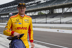 May 18, 2018 - Indianapolis, Indiana, United States of America - RYAN HUNTER-REAY (28) of the United States walks back to Gasoline Alley after a practice run during ''Fast Friday'' for the Indianapolis 500 at the Indianapolis Motor Speedway in Indianapolis, Indiana. (Credit Image: © Chris Owens Asp Inc/ASP via ZUMA Wire)