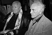 STEVEN BERKOFF; TERENCE STAMP, A Service of Thanksgiving for the life of RAPHAEL B JAGO. The Actors' Church , St.  Paul's Covent  Garden. London. 2 June 2015