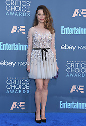 Celebrities attend the 22nd Annual Critics' Choice Awards held at Barker Hanger in Santa Monica, California. 11 Dec 2016 Pictured: Linda Cardellini. Photo credit: American Foto Features / MEGA TheMegaAgency.com +1 888 505 6342
