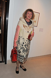 GRAYSON PERRY at the launch Sanctuary, Britains Artists and their Studios held at Christies, 8 King Street, St.James's, London on 13th March 2012.