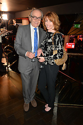 GERALD SCARFE and JANE ASHER at the Costa Book of The Year Awards held at Quaglino's, 16 Bury Street, London on 26th January 2016.
