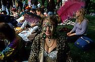 New York. hippie meeting . Sunday in Central park  New York, Manhattan  Usa / rassemblement hippie Dimanche à Central park  Manhatan, New York  USa