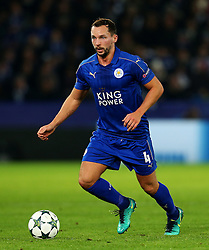Daniel Drinkwater of Leicester City  - Mandatory by-line: Matt McNulty/JMP - 22/11/2016 - FOOTBALL - King Power Stadium - Leicester, England - Leicester City v Club Brugge - UEFA Champions League