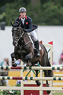 MHS KING JOULES ridden by OLIVER TOWNEND during the final jumping event at Bramham International Horse Trials 2016 at  at Bramham Park, Bramham, United Kingdom on 12 June 2016. Photo by Mark P Doherty.