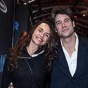 NLD/Amsterdam/20131104 - Premiere Het Diner, Daniel Boissevain en partner Vanessa Henneman
