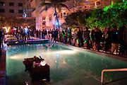 White cube party. Soho House, Miami Beach. Miami Art Basel 201. 29 November 2011.