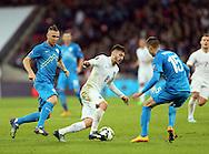 England's Adam Lallana in action<br /> <br /> - International European Qualifier - England vs Slovenia- Wembley Stadium - London - England - 15th November 2014  - Picture David Klein/Sportimage