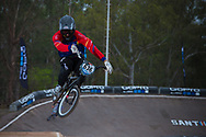 #636 (URGILEZ FARFAN Bryan Martin) ECU at the 2014 UCI BMX Supercross World Cup in Santiago Del Estero, Argentina.