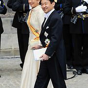 NLD/Amsterdam/20130430 - Inhuldiging Koning Willem - Alexander, prince K?taishi Naruhito Shinn? and partner princess Masako Owada of Japan
