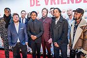 Rode loper bij  Vrienden van Amstel Live in Ahoy te Rotterdam.<br /> <br /> Op de foto: Typhoon